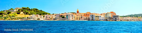 Fotografia France - Saint Tropez - panoramic view from sea