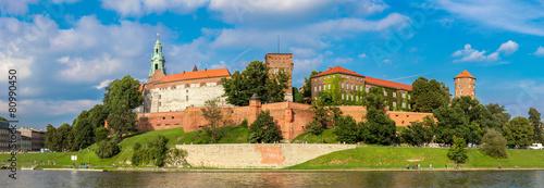 Wawel castle in Kracow #80990450