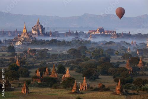 Archaeological Zone - Bagan - Myanmar Fototapeta