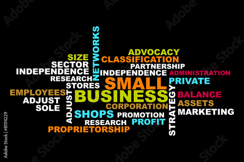 Small Business word concept #81114229