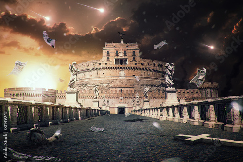 Carta da parati Rome Apocalipse