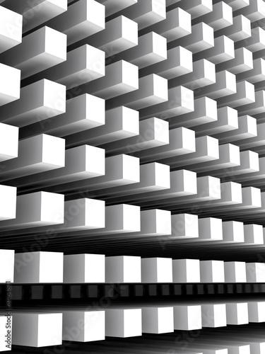 Abstrakcjonistyczny pionowo cyfrowy tło z białym kolumny szykiem