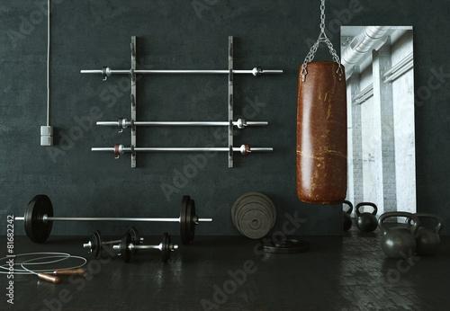 Plakat Sala fitness