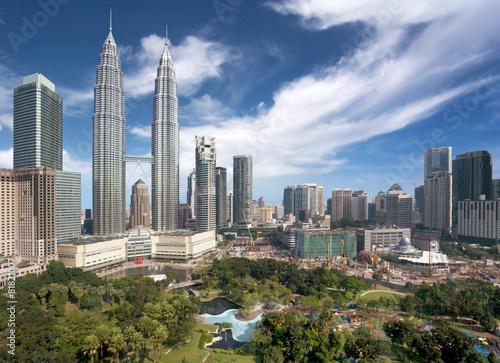 Kuala Lumpur downtown #81821007