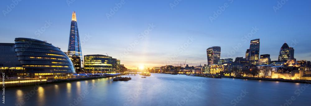 panoramę Londynu <span>plik: #81944425 | autor: Frédéric Prochasson</span>