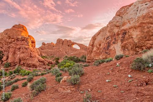 Obraz na płótnie Arches National Park Landscape