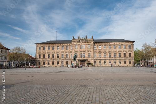 Fotografie, Tablou Erlangen Schlossplatz