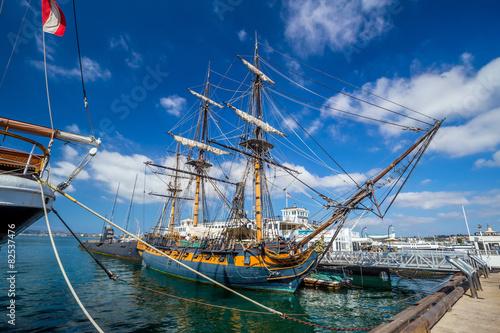 Slika na platnu The Maritime Museum of San Diego