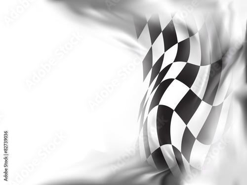 race flag  background vector illustration #82739036