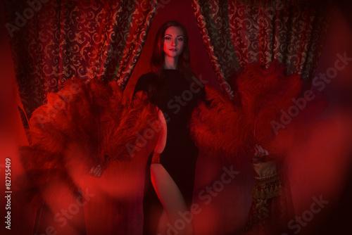 Fotografie, Tablou glamorous cabaret