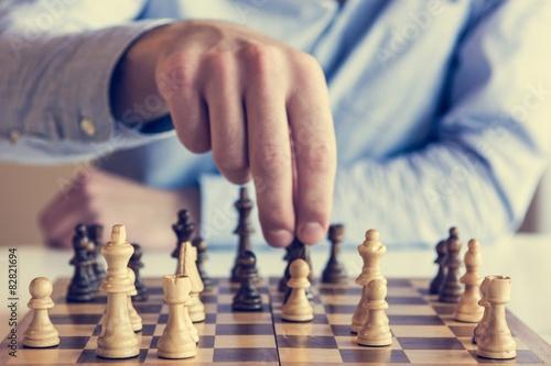 Fototapeta Šachová hra
