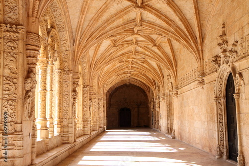Billede på lærred Mosteiro dos Jerónimos - Hieronymitenkloster Lissabon