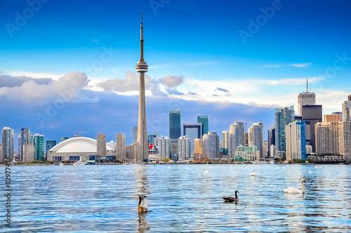 Canvas Print Toronto city, Canada