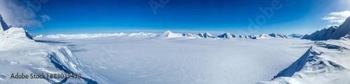 Fotografia Arctic winter in south Spitsbergen