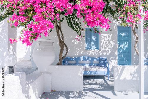 Obraz na płótnie Santorini