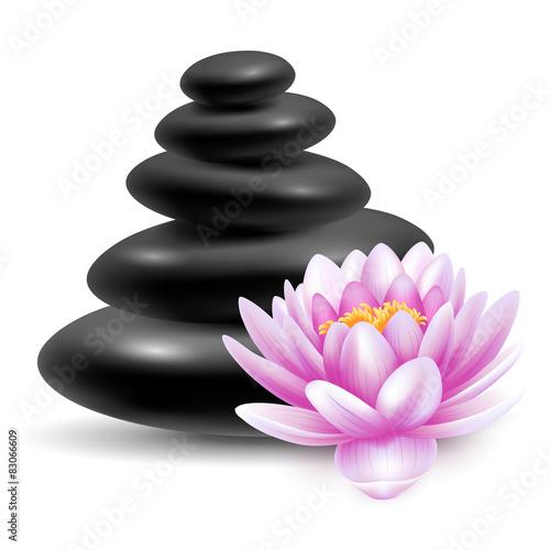 Spa massage stones #83066609