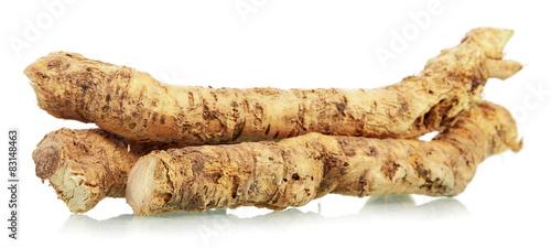 Canvastavla Horseradish root
