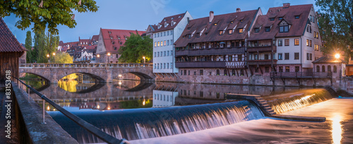 Fényképezés Nürnberg Maxbrücke