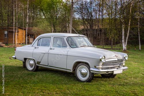Canvas Print Vintage car GAZ M21 Volga