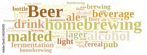 Homebrewing beer. #83342013