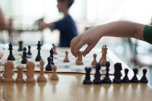 Fotografie, Tablou chess game