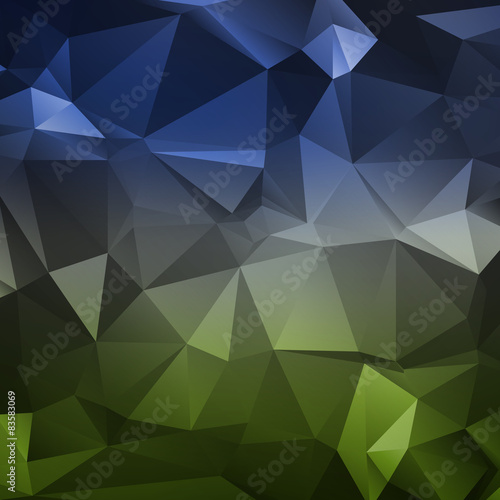 Polygon abstract texture in dark elegant colors background for w #83583069