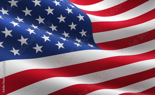 Valokuva Flag of the United States of America