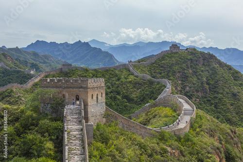 Canvas Print Great Wall of China JinShanLing