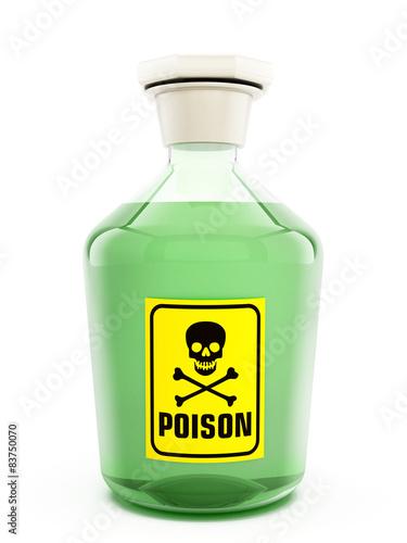 Valokuvatapetti Poison bottle