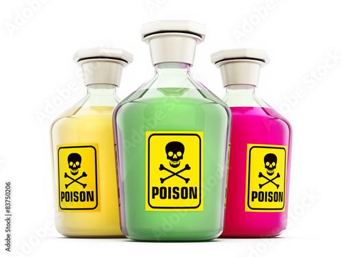 Valokuva Poison bottles