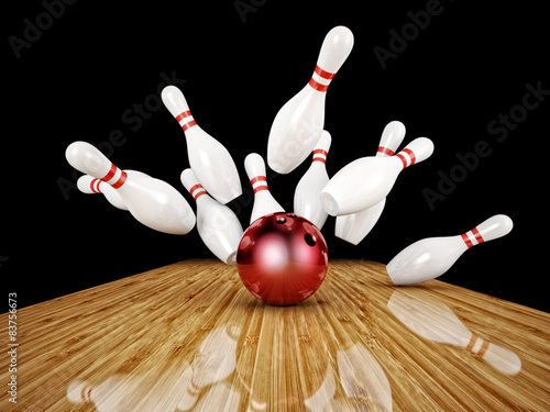 Foto bowling