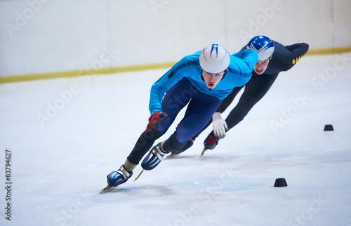 Obraz na plátně speed skating