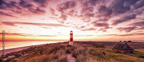 Fotografia Leuchtturmpanorama Sylt