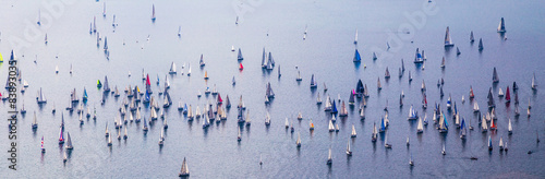 Obraz na plátně Barcolana regatta of Trieste