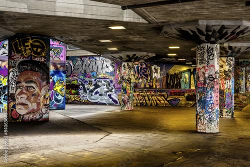 Fotografering Graffiti - Urban London