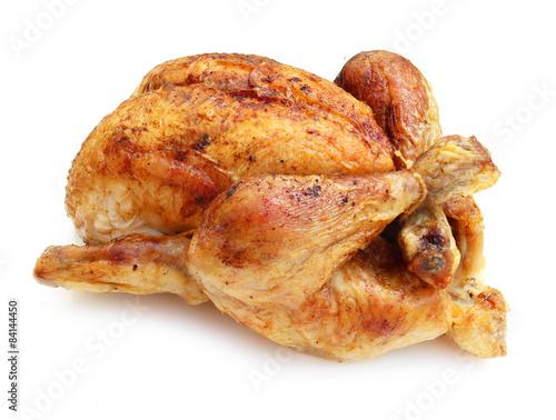 Slika na platnu Roast chicken / Poulet rôti