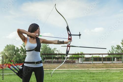 Leinwand Poster Archery