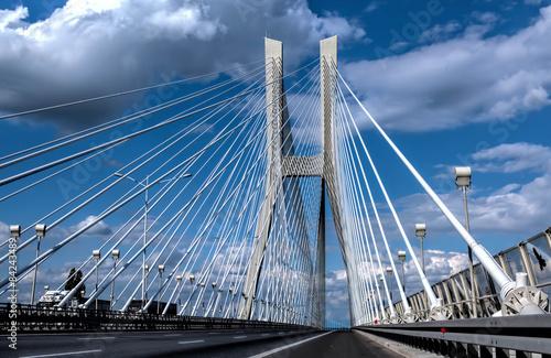 Redzinski Bridge in Wroclaw