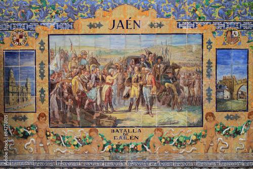 Jaén, Batalla de Bailén
