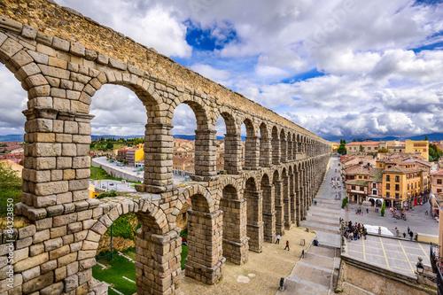 Canvastavla Segovia Aqueduct