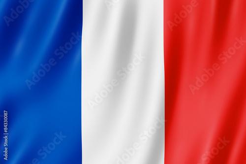 Flag of France Fototapet