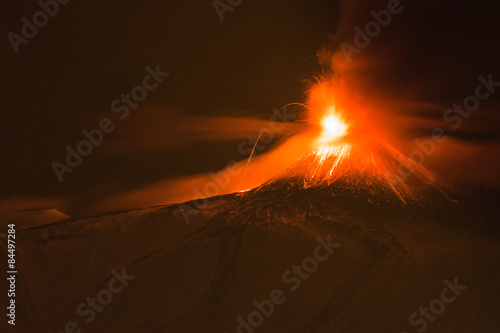 Stampa su Tela Vulcano Etna
