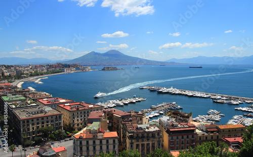 Canvas-taulu Naples gulf