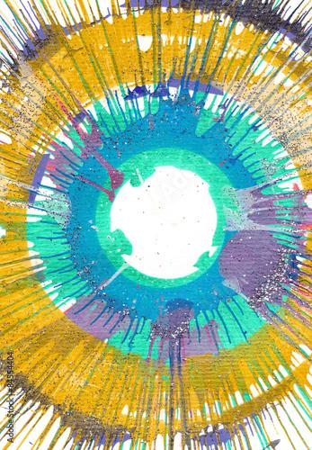 Naklejka na szafę Malarstwo abstrakcyjne - ekspresjonizm