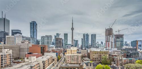Ausblick auf die Downtown von Toronto