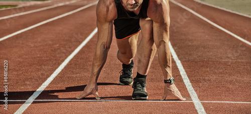 Photo Sport. Runner.