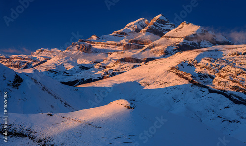 Fotografie, Obraz Monte Perdido (Spain, Pyrenees)