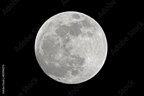 Valokuva Full moon closeup