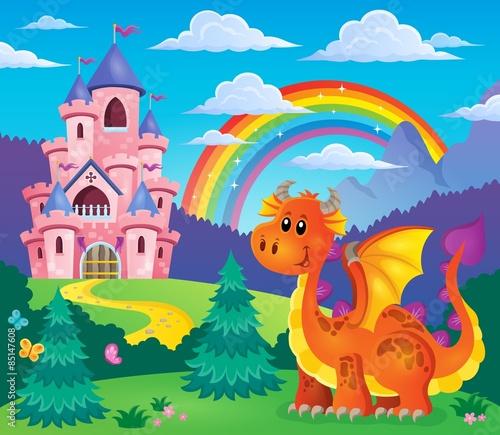 Image with happy dragon theme 7