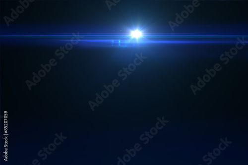 Photo Lens flare effect